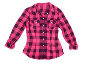 Plaid shirt — Stock Photo