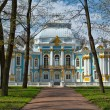 pavilion in catherine park in tsarskoe selo near saint petersb — Stock Photo