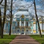 Pavilion in Catherine park in Tsarskoe Selo near Saint Petersb — Stock Photo