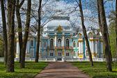 Pavilhão no parque de catherine em czarskoe selo, perto de saint petersb — Foto Stock