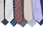 Background of ties — Stock Photo