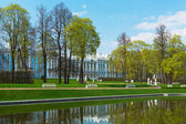 Catherine Palace overview — Stock Photo