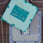 Modern powerful CPU cycles slot — Stock Photo