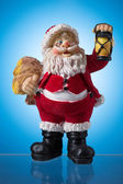 Santa claus figure, mysticism Christmas. — Stock Photo