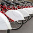 Bikes In A Row — Stock Photo #40891797