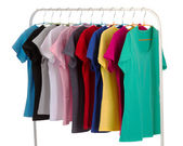 Colored shirts — Stock Photo