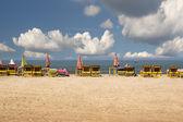Half empty beach — Stock Photo