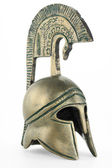 Ancient greek helmet replica — Stock Photo