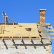 Roof under construction. — Stock Photo