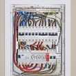 Electrical distribution board — Stock Photo