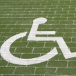 Handicapped parking — Stock Photo #39274127