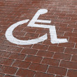 Handicapped parking — Stock Photo #39274253