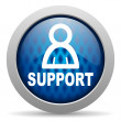 Stock Photo: Support icon