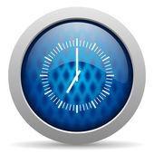 значок часов — Стоковое фото