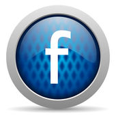 Facebook icon — Stock Photo