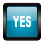 Yes icon — Stock Photo #13318272