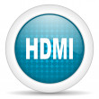 Stock Photo: Hdmi icon