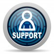 Support icon — Stock Photo #13319285