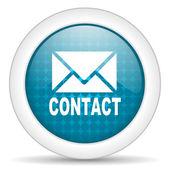 Contact icon — Stock Photo
