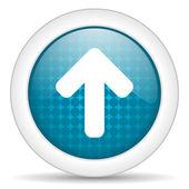 Arrow top icon — Stock Photo
