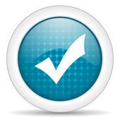 Acceptera ikonen — Stockfoto