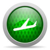 Plane icon — Stock Photo