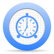 图库照片: Alarm clock icon