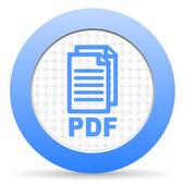 Icono pdf — Foto de Stock