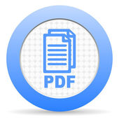 Pdf-pictogram — Stockfoto