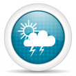 Weather icon weather icon — Stock Photo #13886240