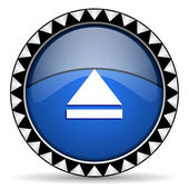 Eject icon — Stock Photo