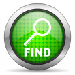 Find icon — Stock Photo #13946158