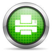 Icono de la impresora — Foto de Stock