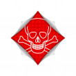 Stock Photo: Skull icon