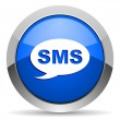 Sms icon - Stock Photo