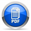 Pdf icon - Stock Photo