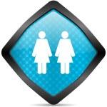 Couple icon — Stock Photo #14715587