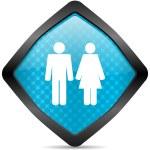 Couple icon — Stock Photo #14715607