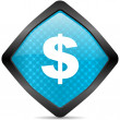 Royalty-Free Stock Photo: Us dollar icon