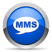Mms-pictogram — Stockfoto