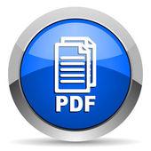 Ikona pdf — Zdjęcie stockowe