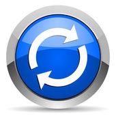 Recarregar o ícone — Fotografia Stock