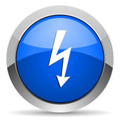 Lightning icon — Foto de Stock