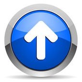 Arrow up icon — Stock Photo