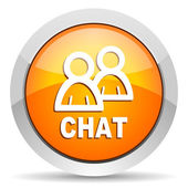 Chat icon — Fotografia Stock