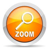 Zoom icon — Foto Stock