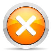 Cancel icon — Stock Photo