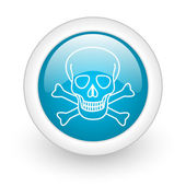 Skull icon — Stock Photo