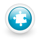 Puzzle icon — Stock Photo