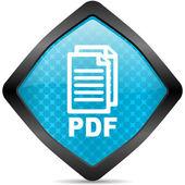 Pdf icon — Stockfoto